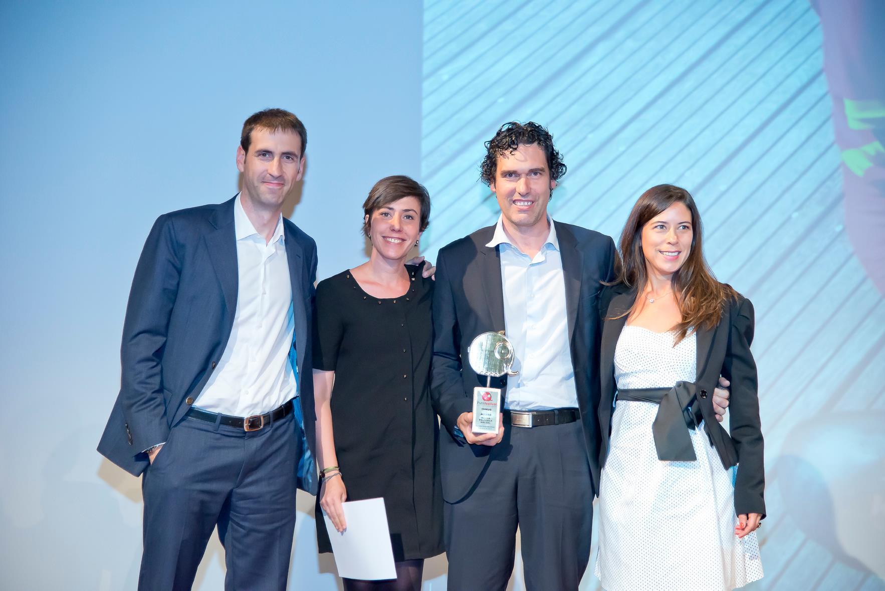 Innuo gana dos premios de RSC en Publifestival