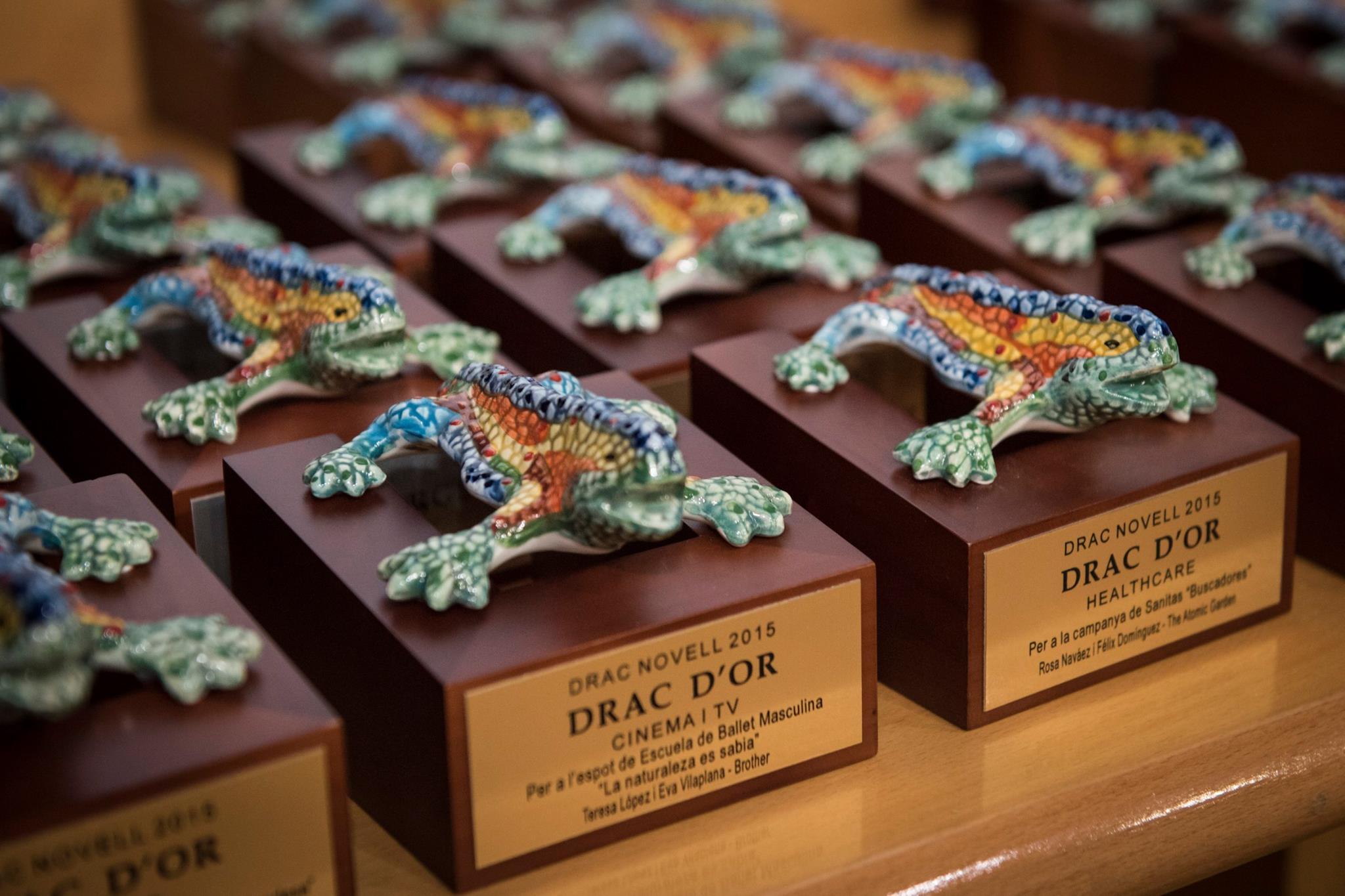 Innuo ha patrocinado los Premios Drac Novell 2015